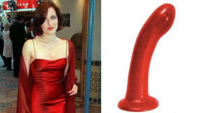 Gillian Anderson é comparada a vibrador