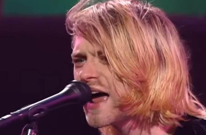 Kurt Cobain no Nirvana Live And Loud