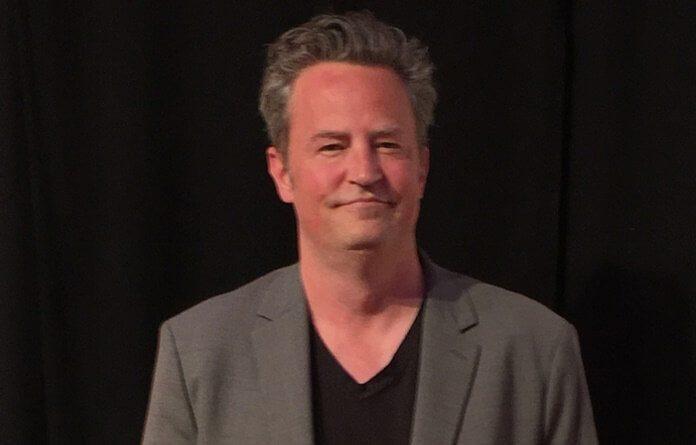 Matthew Perry em 2017