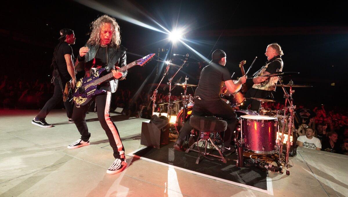 Turnê do Metallica no Brasil