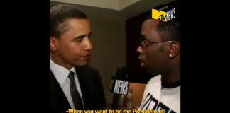 Obama e Diddy