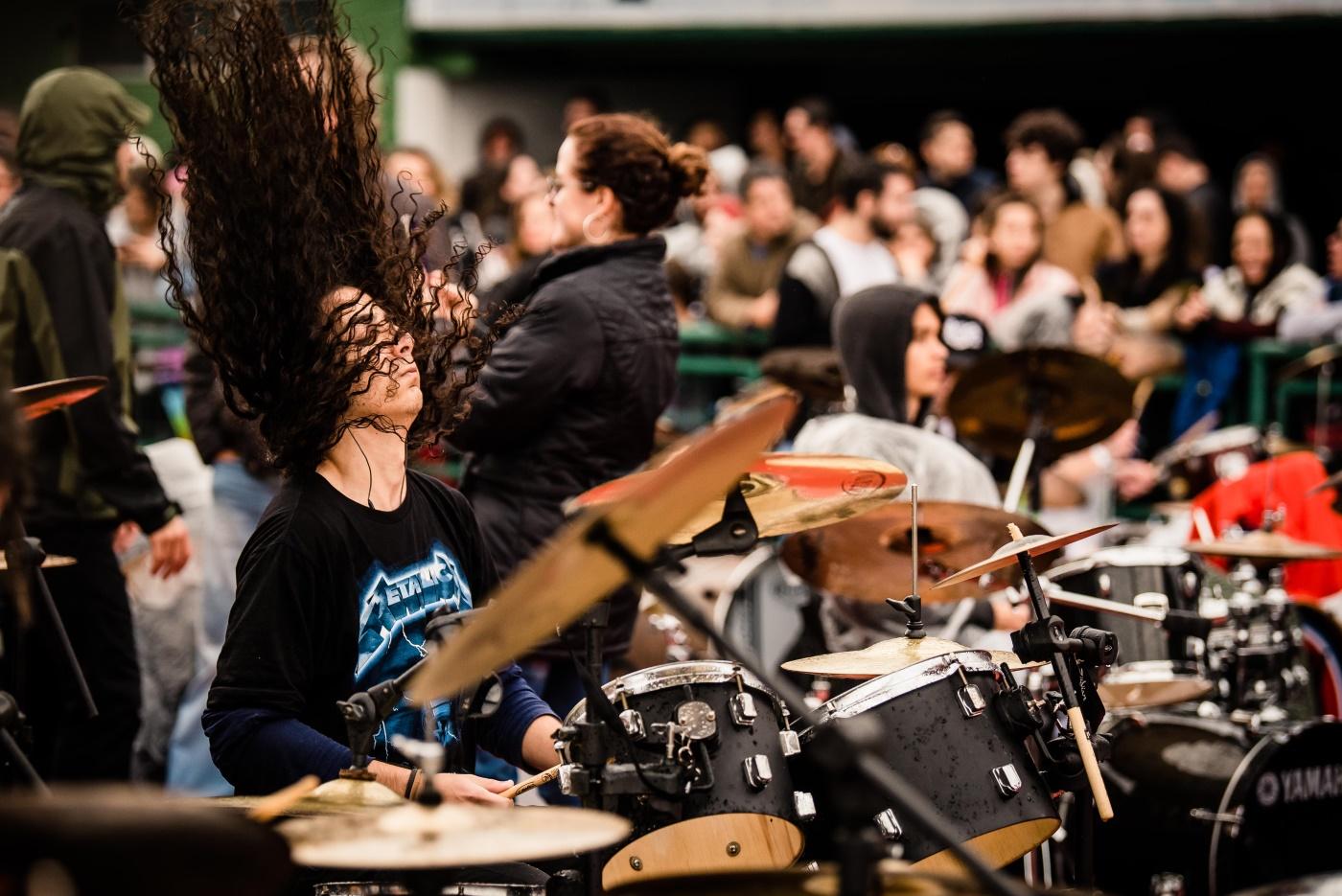 Orquestra de Baterias em Florianópolis, 2019