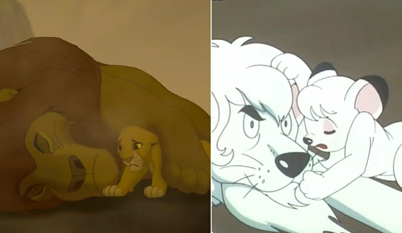 O Rei Leão e Kimba