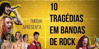 10 tragédias em Bandas de Rock