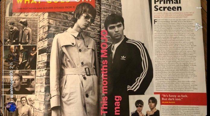 Atores irmãos Oasis Gallagher