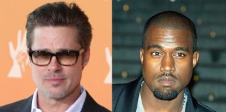 Brad Pitt e Kanye West