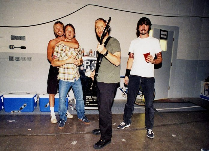 Foo Fighters em 2005 por Danny Clinch