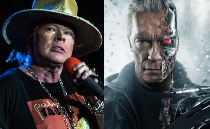 Guns N' Roses e Exterminador do Futuro