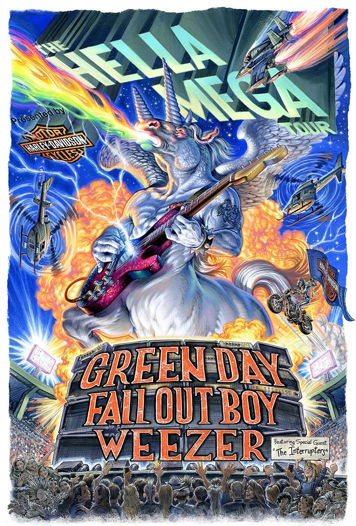 Hella Mega Turne Green Day Weezer Fall Out Boy