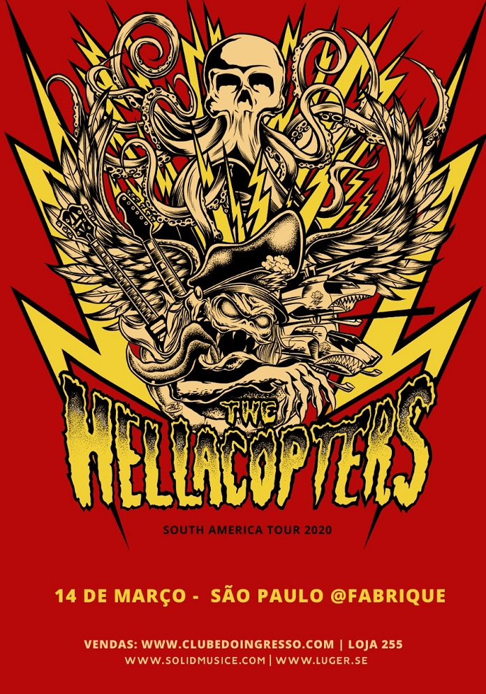 Hellacopters em SP