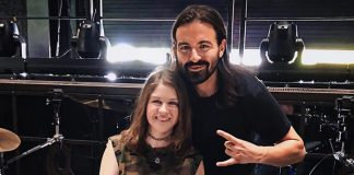 Jay Weinberg (Slipknot) e Maren Alford