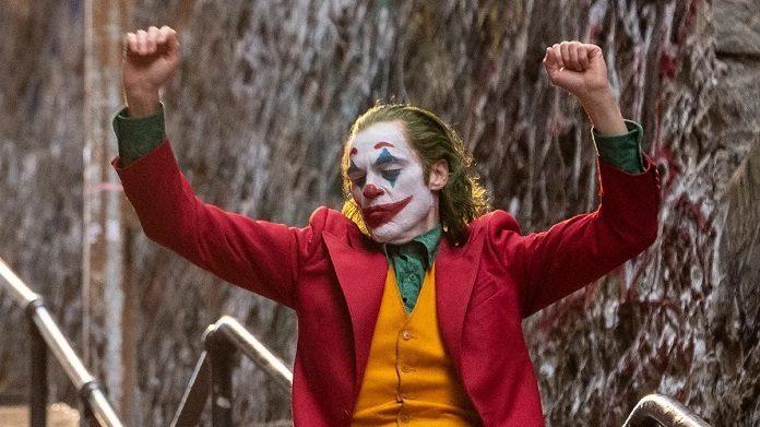 Joker Coringa Joaquin Phoenix (Globo de Ouro)