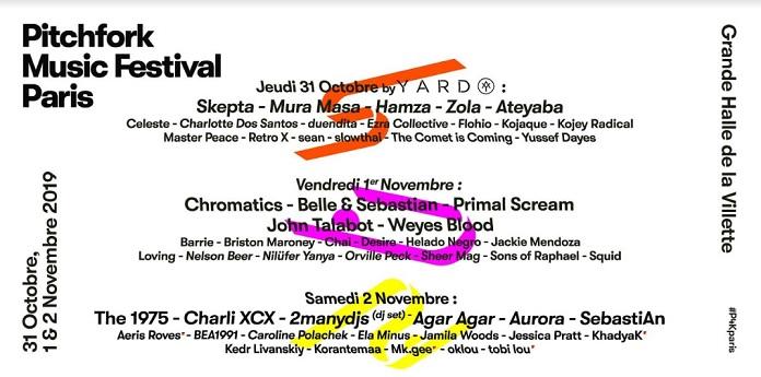 Pitchfork Festival Paris 2019