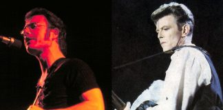 Robert Fripp (King Crimson) e David Bowie