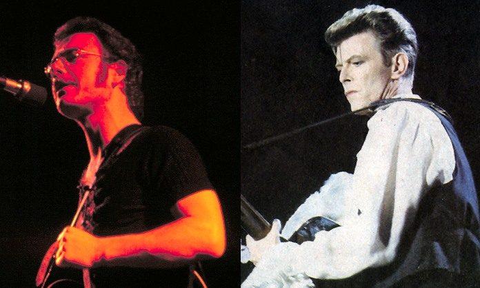 Robert Fripp (King Crimson) e David Bowie