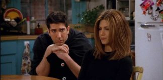 Ross e Rachel em Friends