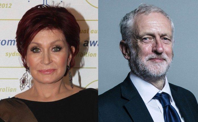 Sharon Osbourne e Jeremy Corbyn