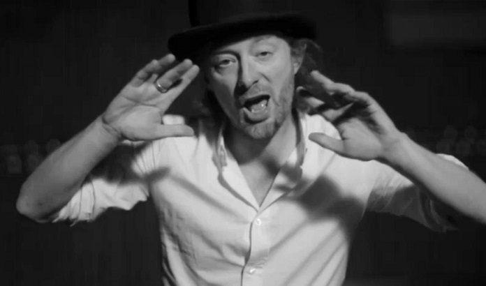 Thom Yorke Radiohead Lotus Flower