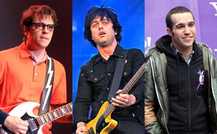 Weezer, Green Day e Fall Out Boy