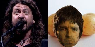 Foo Fighters, Noel Gallagher e Batata