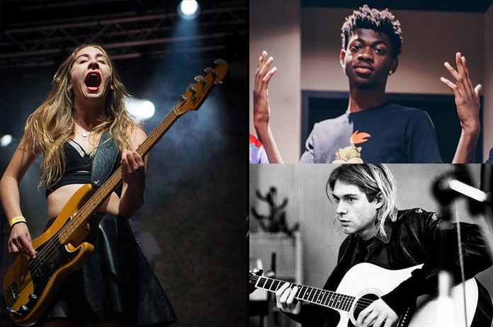 HAIM, Lil Nas X e Kurt Cobain