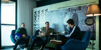 Marcelo D2, Sain e Tony Aiex a convite de adidas Originals