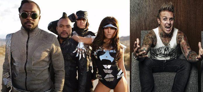 Black Eyed Peas e Papa Roach