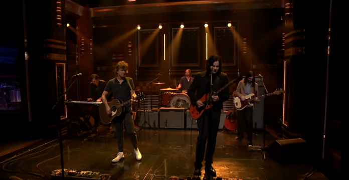 The Raconteurs no he Tonight Show Starring Jimmy Fallon