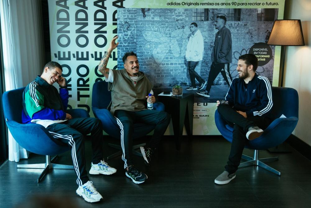 Sain, Marcelo D2 e Tony Aiex