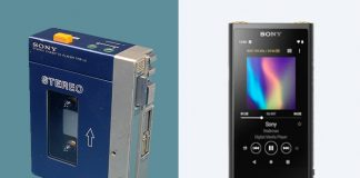 Sony Walkman Antigo x Novo
