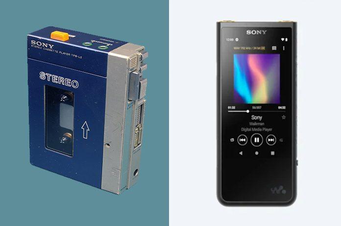 Sony Walkman Antigo x Novo