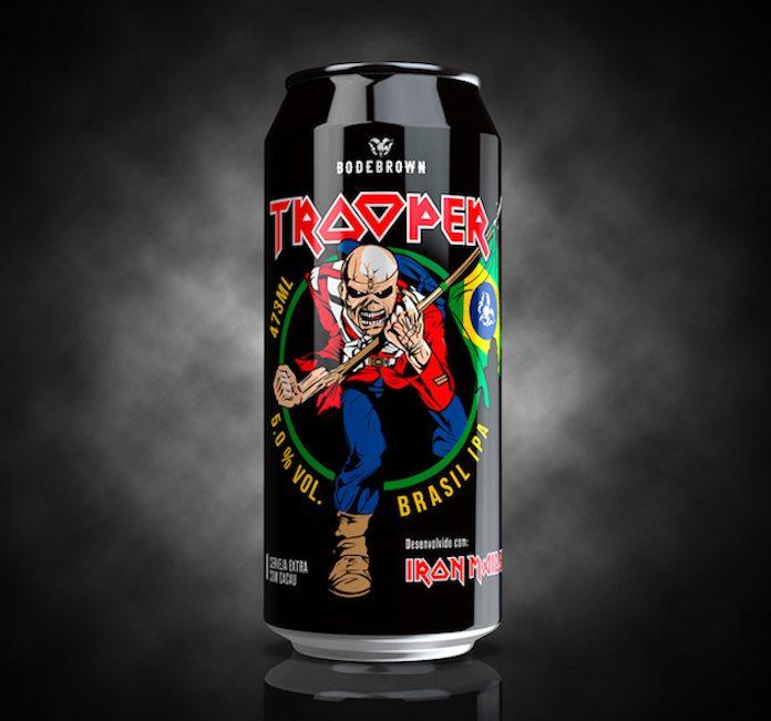 Cerveja Trooper Brasil IPA (Bodebrown)