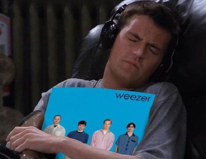 Chandler Bing Friends Weezer