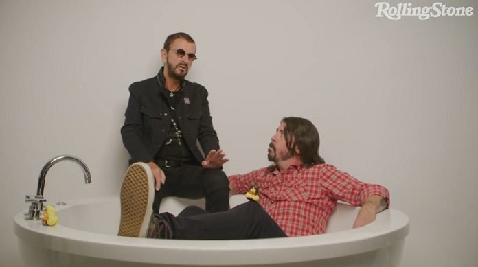 Dave Grohl Ringo Starr