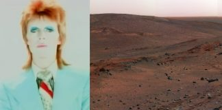 David Bowie Life on Mars Marte NASA