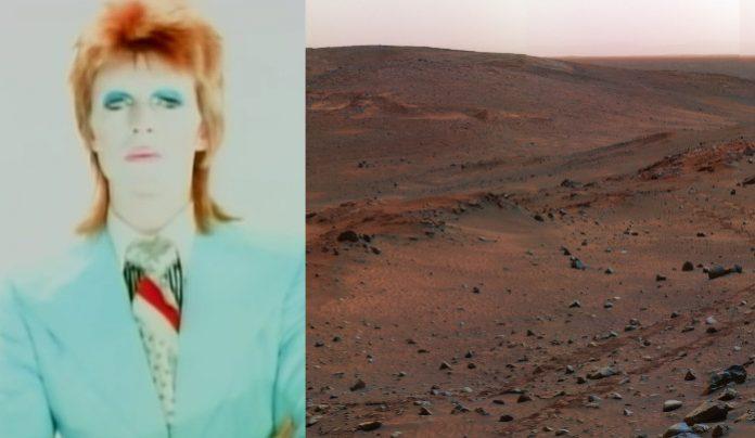 David Bowie Life on Mars Marte NASA