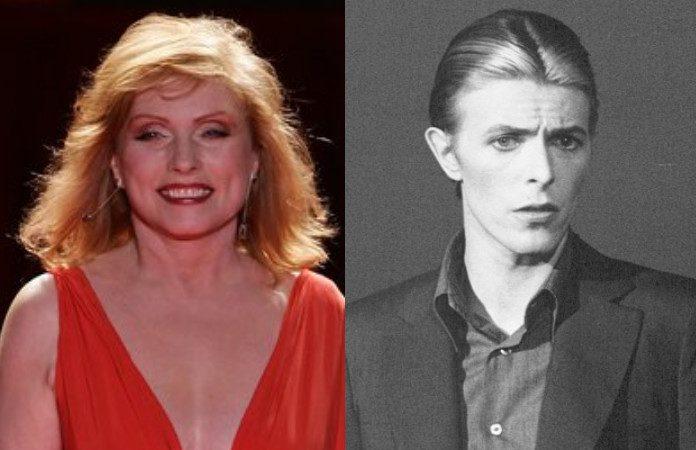 Debbie Harry e David Bowie