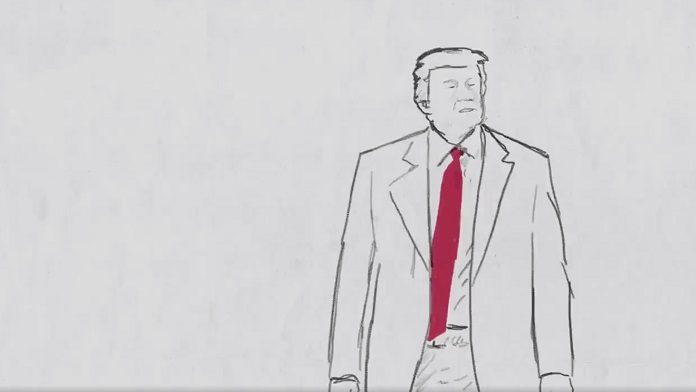 Donald Trump a-ha Take on Me