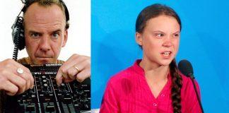 Fatboy Slim e Greta Thunberg