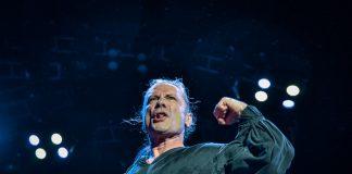 Bruce Dickinson do Iron Maiden em SP-23