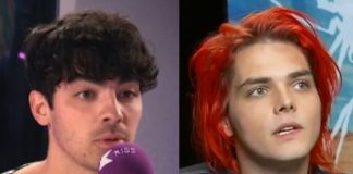 Joe Jonas e Gerard Way (My Chemical Romance)
