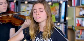 Julien Baker Tiny Desk NPR