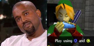 Kanye West Legend of Zelda