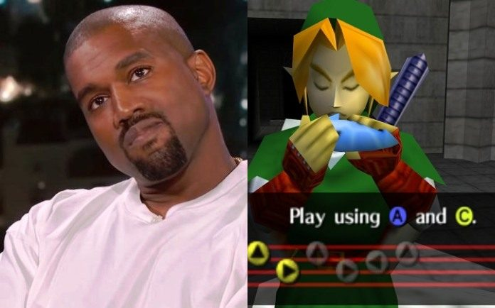 Kanye West Legend of Zelda