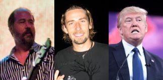 Krist Novoselic, Nickelback e Donald Trump