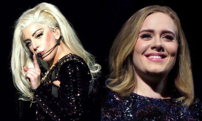 Lady Gaga e Adele