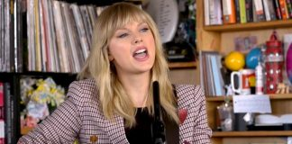 Taylor Swift NPR Tiny Desk