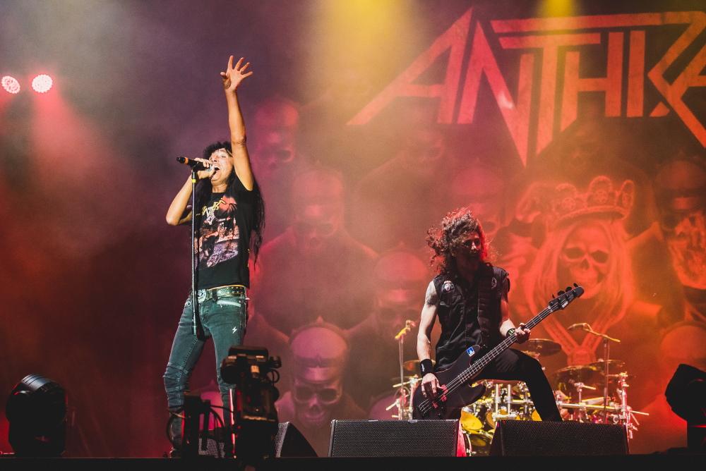 Anthrax no Rock In Rio 2019