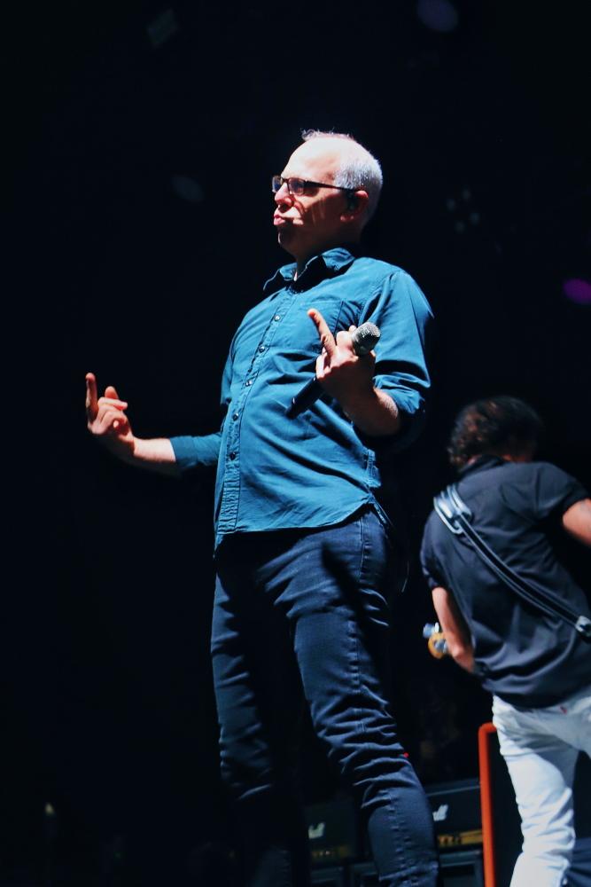 Greg Graffin, do Bad Religion em São Paulo, 2019 - Fuck You