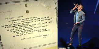 Coldplay anuncia disco com carta